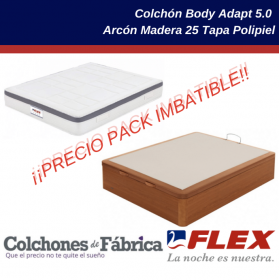 FLEX PACK COLCHÓN BODY...