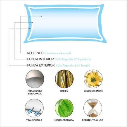 Componentes almohada Flex Natur