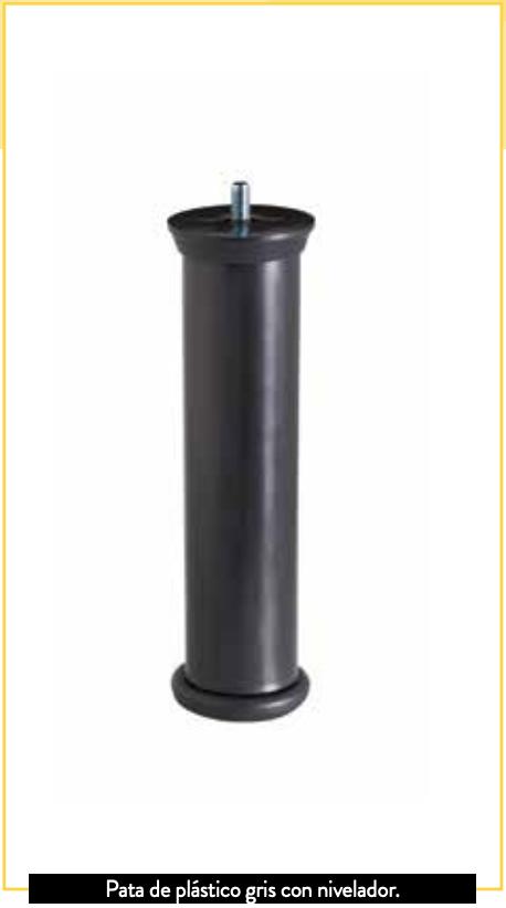Mash Tapiflex Base Tapizada transpirable patas de plástico